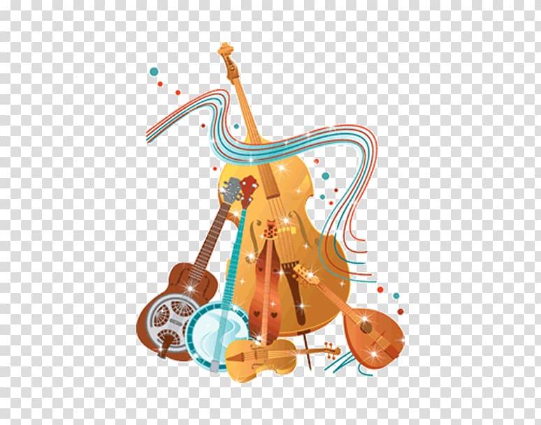 Bluegrass Musical instrument , Violin piano musical.