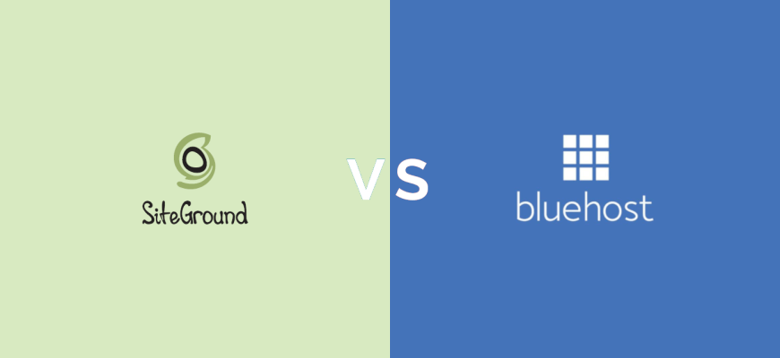 SiteGround vs. Bluehost: No Contest in 2019.