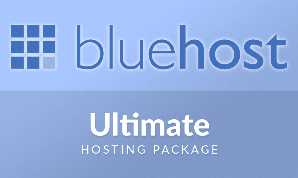 Bluehost WP Ultimate Hosting Account.