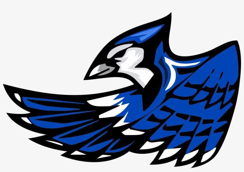 Blue Jay Clipart Mascot.