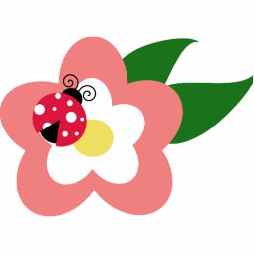 Cartoon Flower Clip Art.