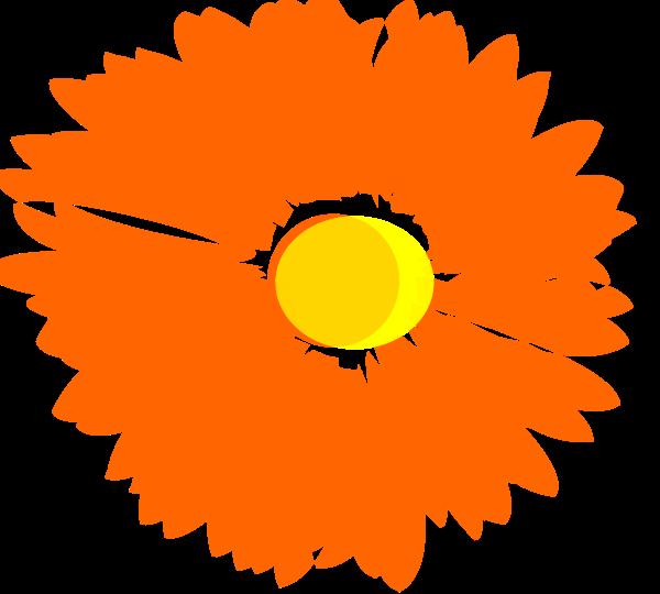Blume Flower Clipart, vector clip art online, royalty free design.