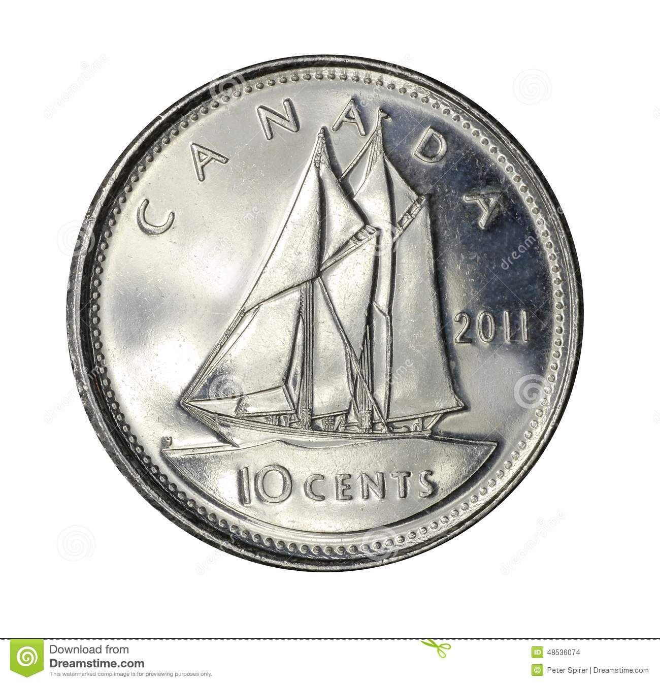 Canadian dime clipart 2 » Clipart Station.