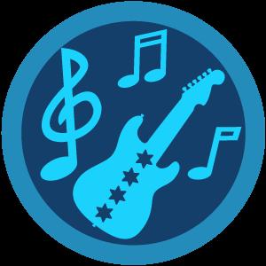 Chicago Blues foursquare Badge.
