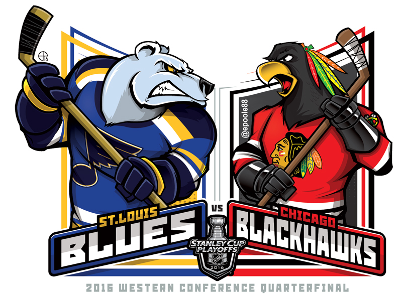 ICE HOCKEY: NHL 2016 SCP WC R1.