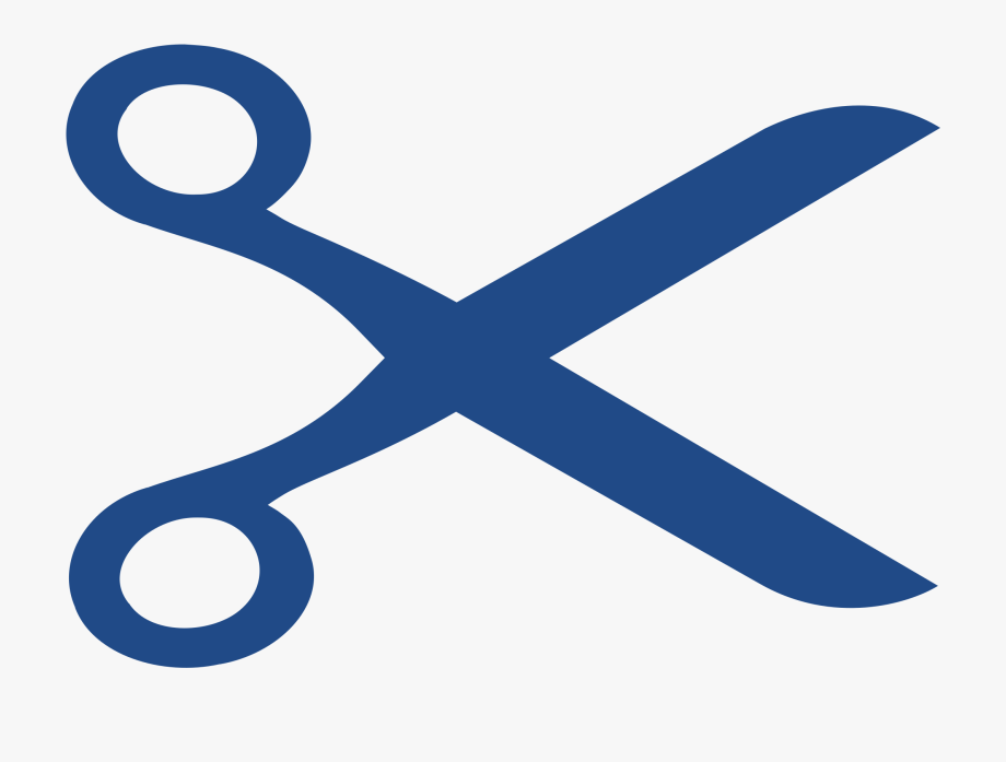 Clipart Openclipart Scissors Logo In Blue.