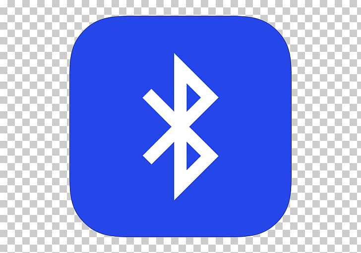Blue area text brand, MetroUI Apps Bluetooth, Bluetooth logo.