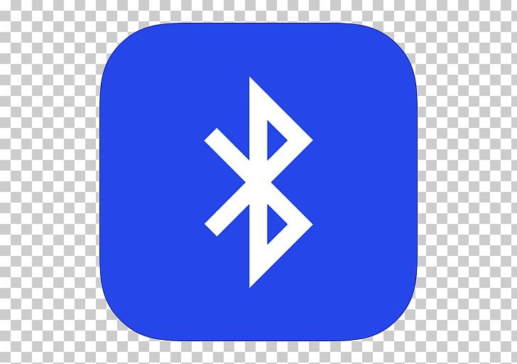 Blue area text brand, MetroUI Apps Bluetooth, Bluetooth logo.