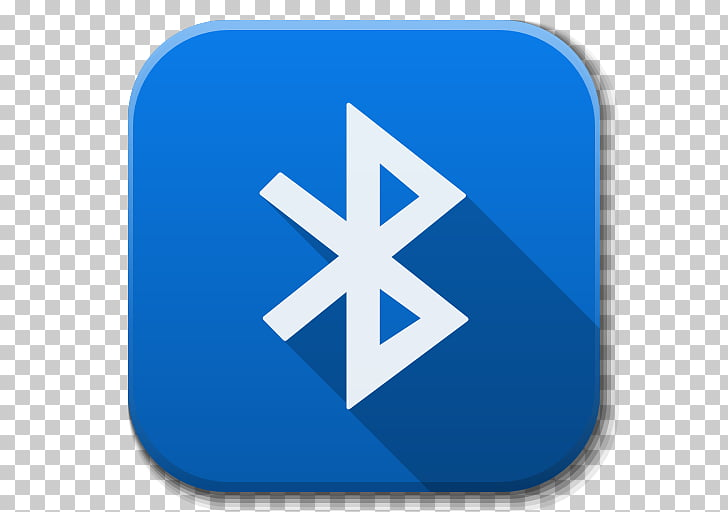Electric blue symbol, Apps Bluetooth Active, Bluetooth icon.