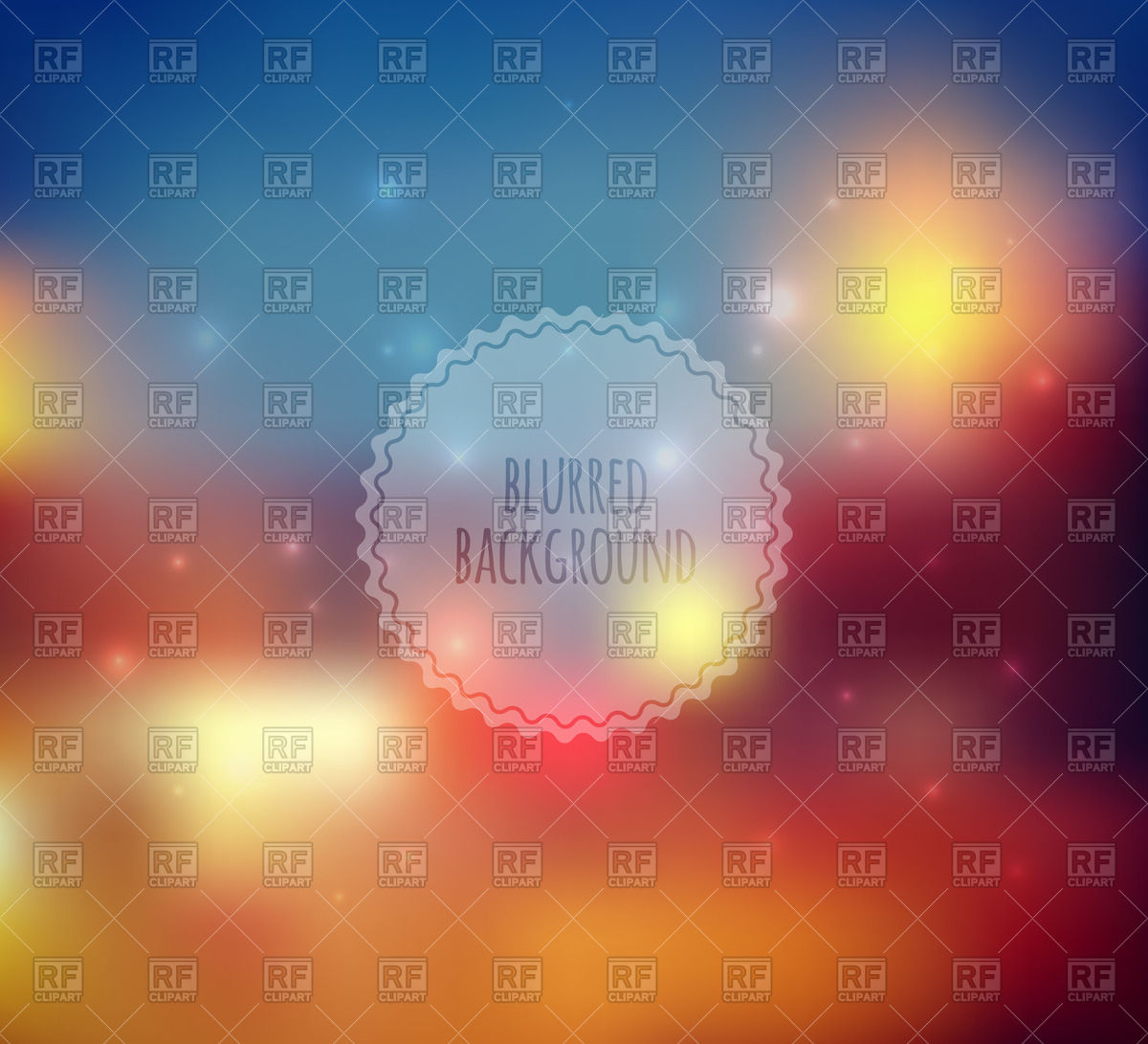 Blurred background or web design template Vector Image #60118.