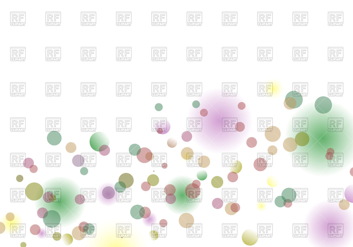 Blur circles background Vector Image #84550.