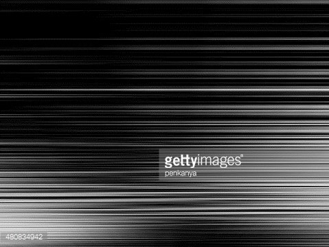 Abstract black and white stripes background with motion blur.