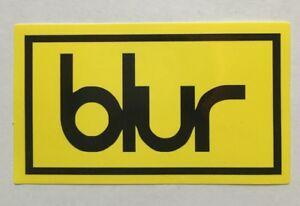 Details about x2 Blur Music Band Logo Sticker Decal Vinyl Punk Pop Rock  Brit.