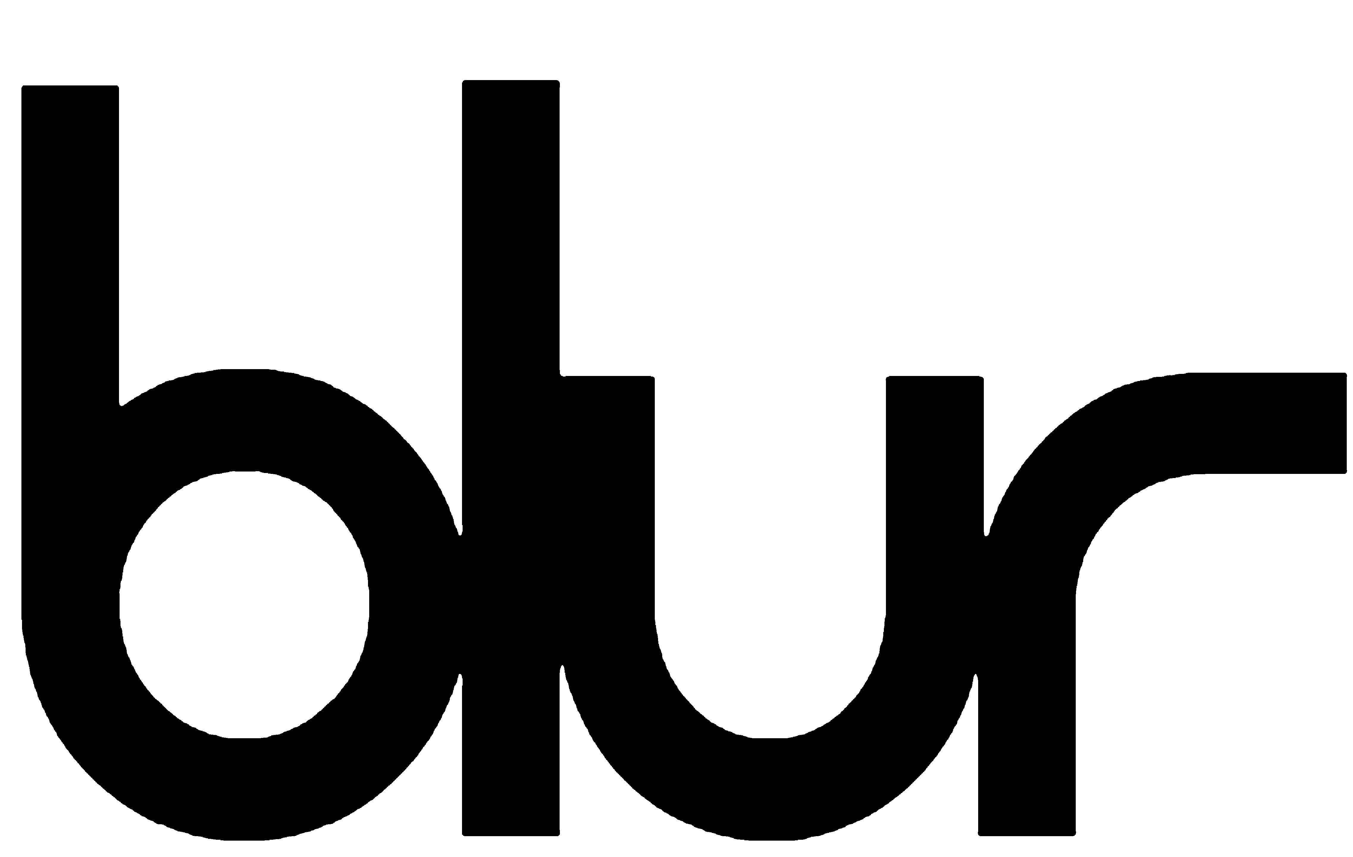 Blur Logo in 2019.