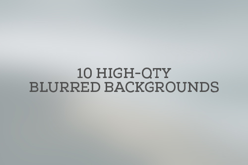 20 HD Free Blurred Backgrounds Sets for Designers.