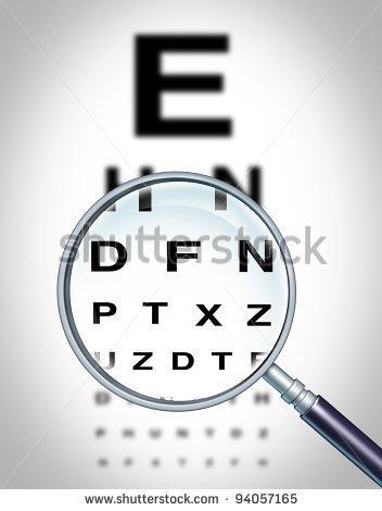 Blurred Vision Clipart Human Eye Vision Chart And #JCQxon.