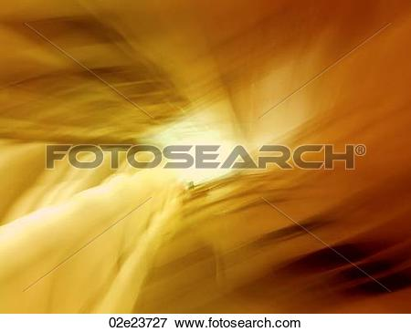 Picture of Abstract blurring light tunnel. 02e23727.