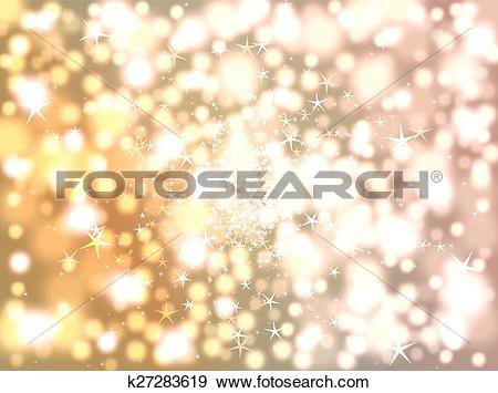 Clip Art of Blurring background of stars and bo k27283619.
