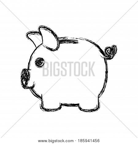 Stock Vector Pig Silhouette Images, Stock Photos & Illustrations.