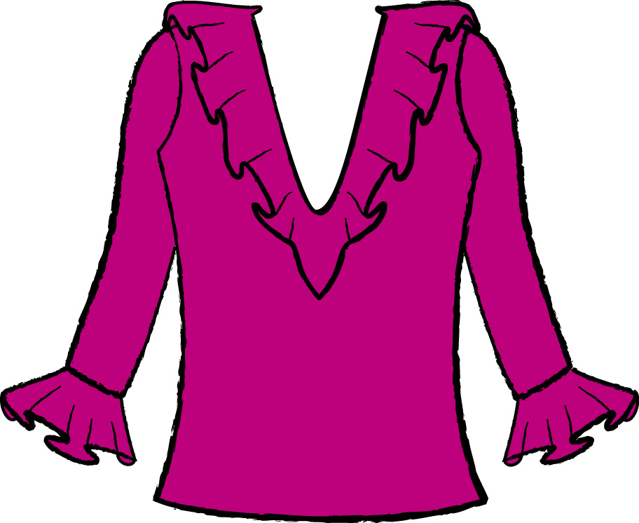 Blusa clipart 2 » Clipart Station.