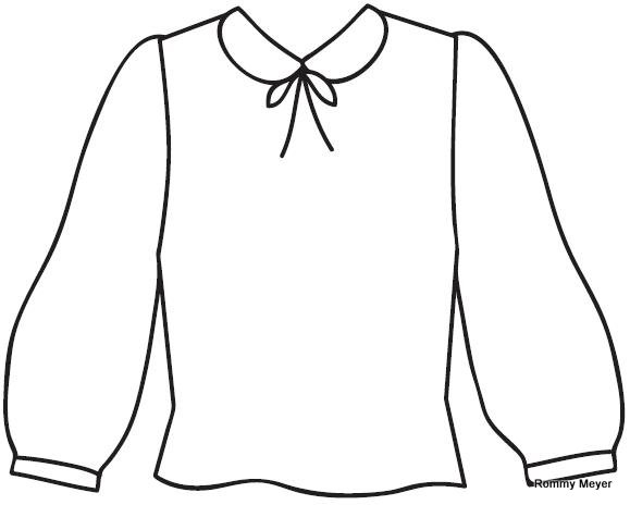 Blusa clipart 4 » Clipart Station.