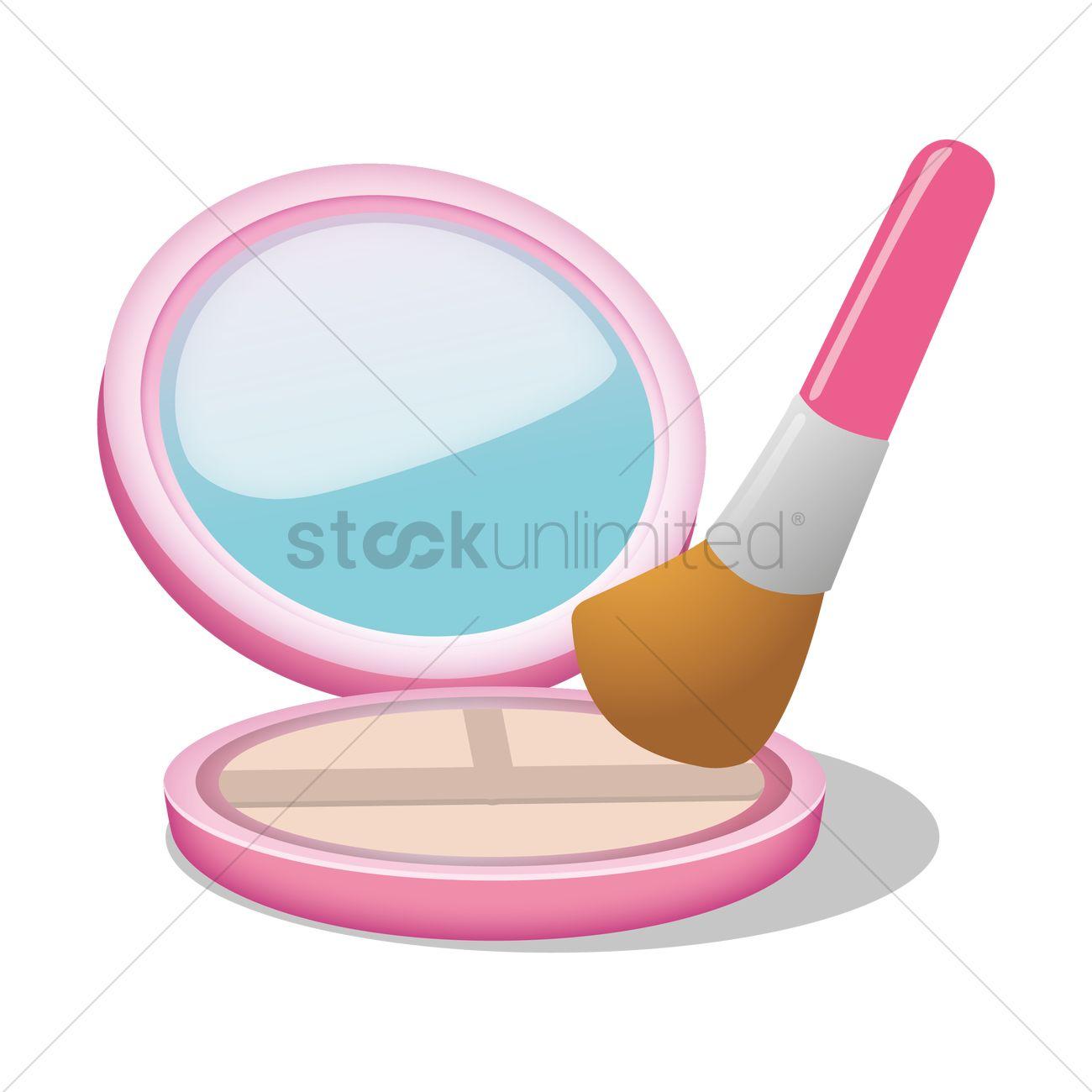 Blusher Vector Image.