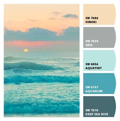1000+ ideas about Ocean Colors on Pinterest.
