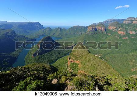 Stock Images of Mpumalanga, Blyde River Canyon k13049006.