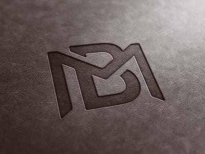 BM Monogram Leather Look.