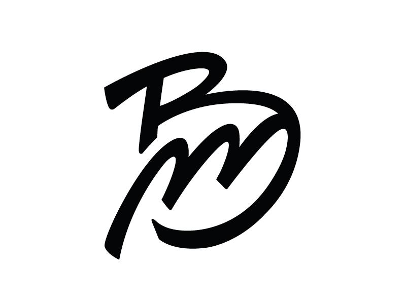 BM Personal Logo design by Mario Biancolella.