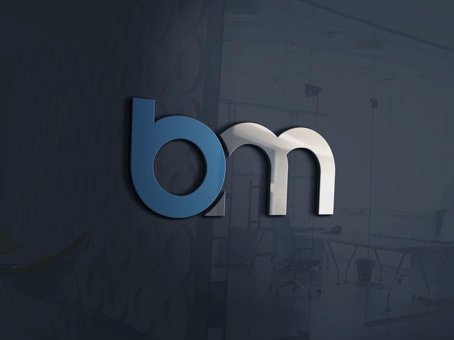 Entry #17 by abrarbrian for BM Logo Recreation.