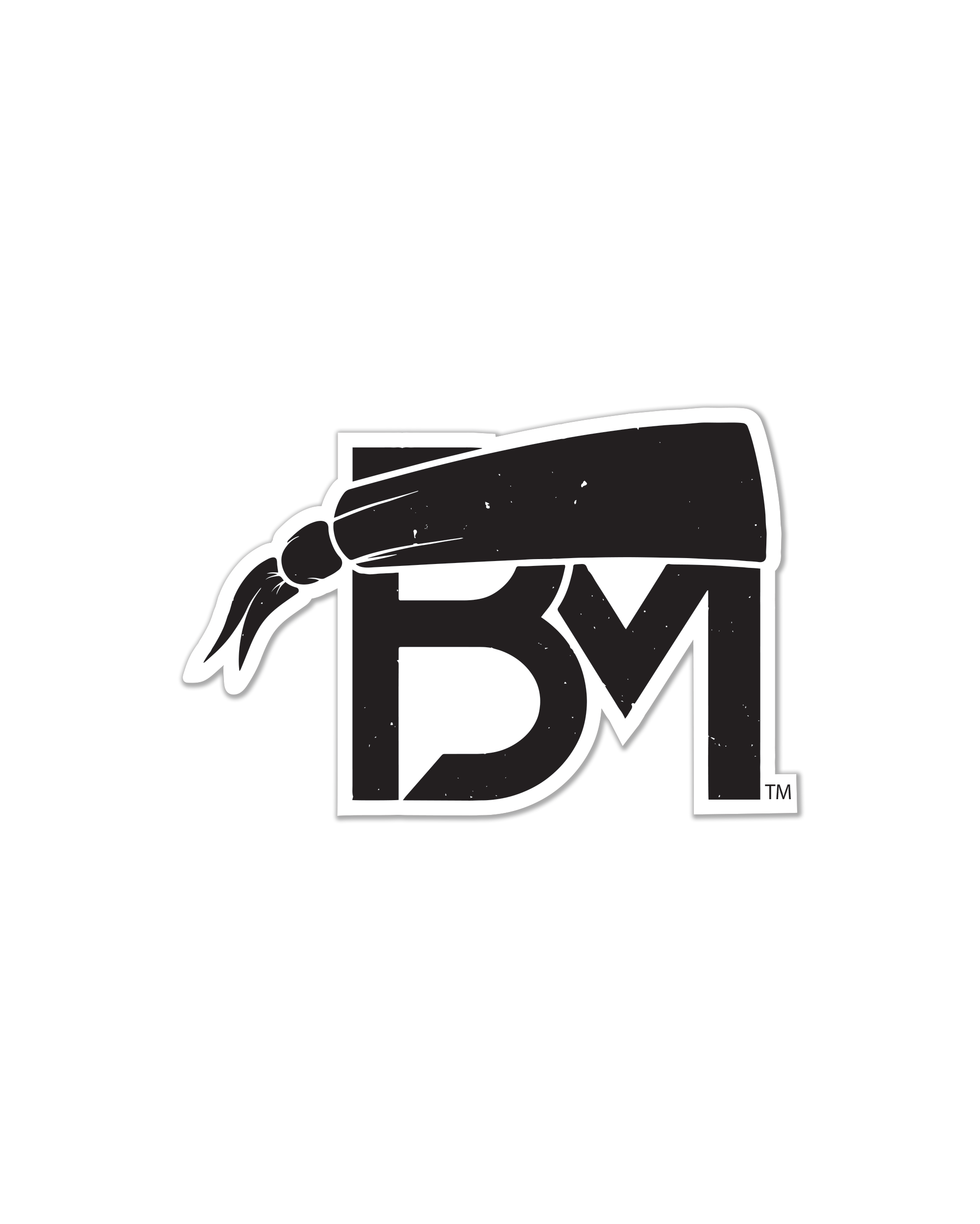 BM Logo Sticker.