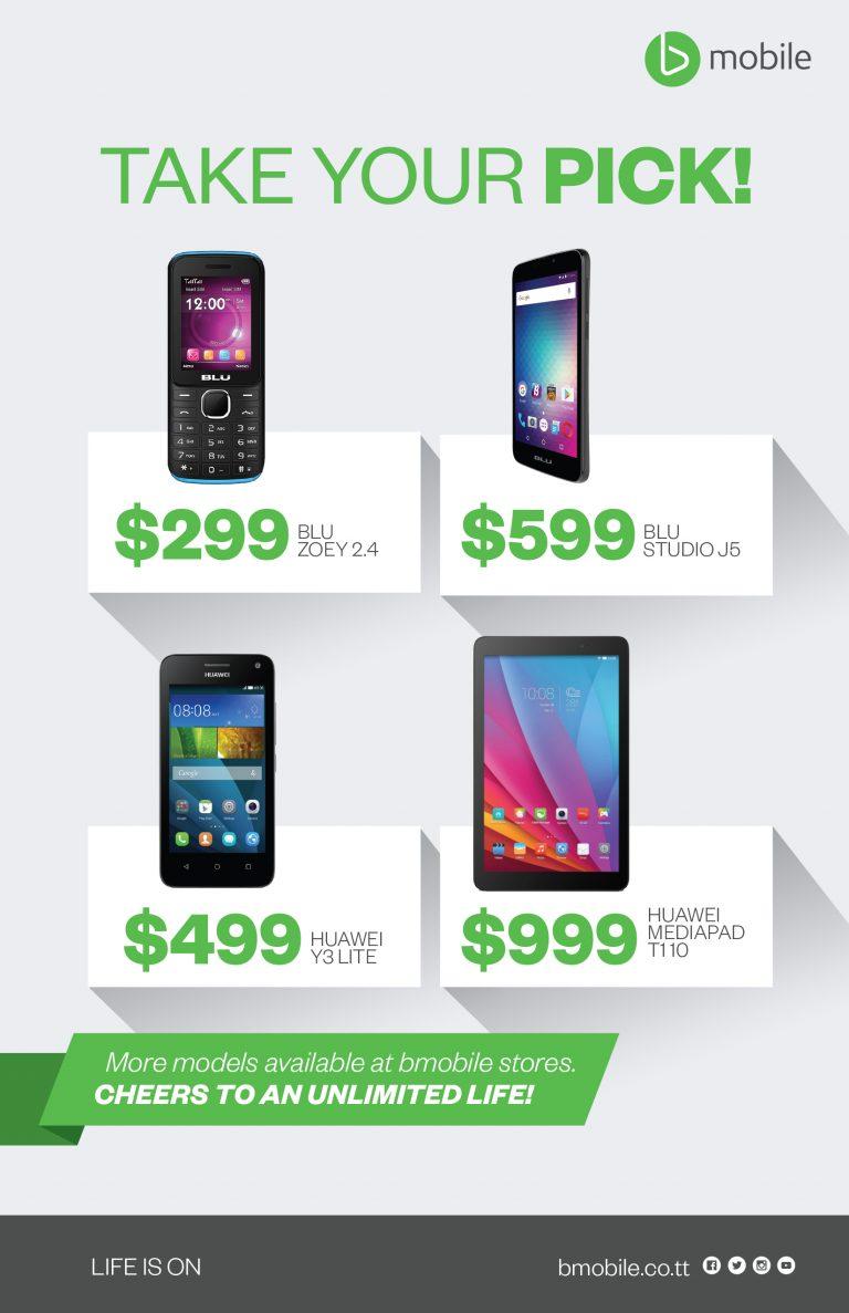 Prepaid Unlimited Handset Promotion.