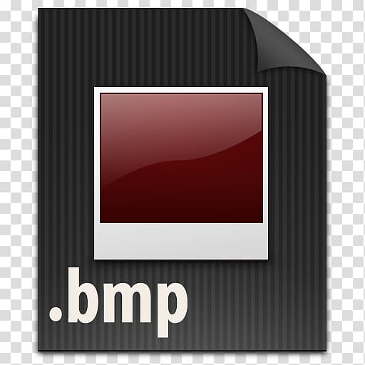 Square white and maroon card , square brand font, File BMP.