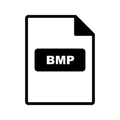 BMP Vector Icon.