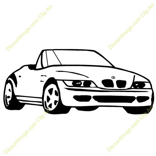 Clipart bmw car.