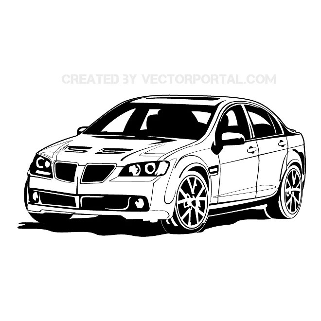 Bmw car clip art.