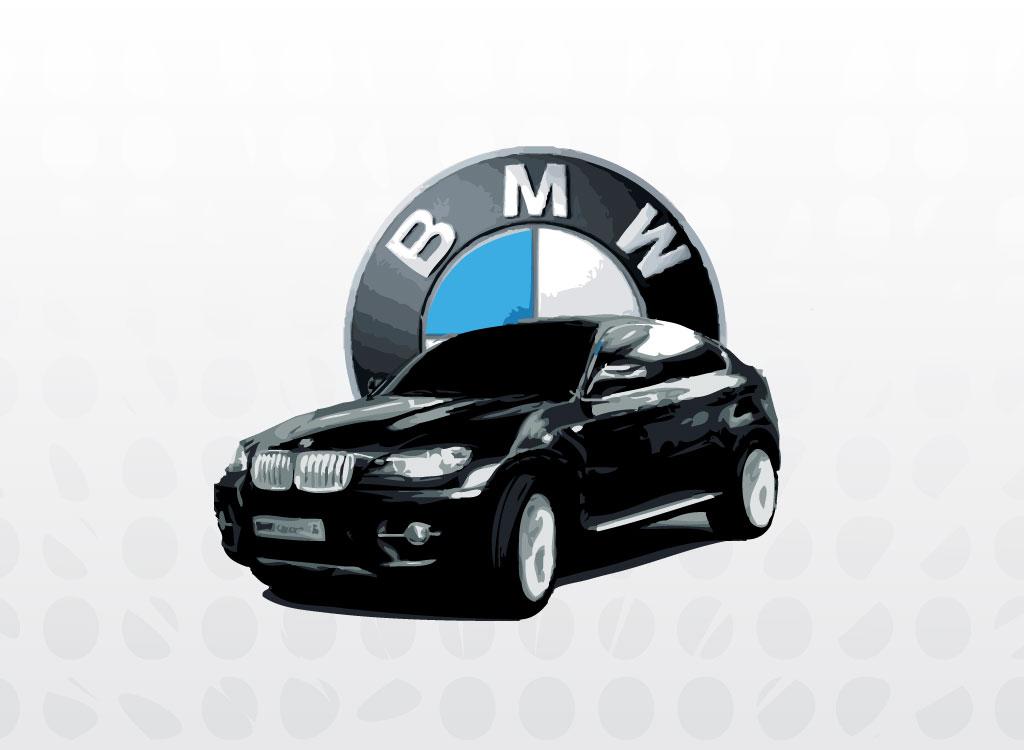 Bmw logo clip art free.