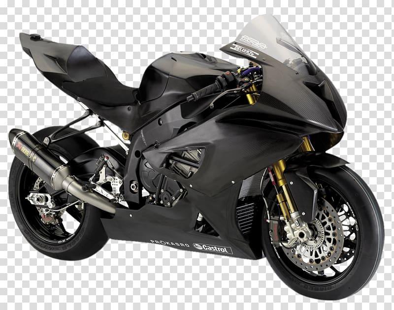 Black Castrol sports bike, BMW S1000RR Car Motorcycle Sport.