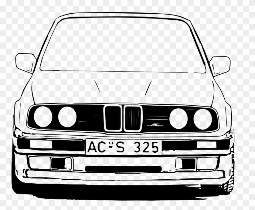 Bmw Car Logo Clip Art.