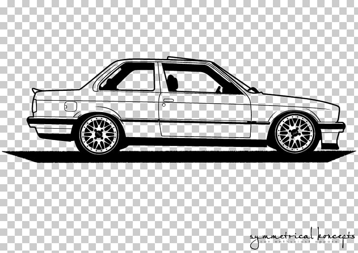 BMW M3 BMW 3 Series Car BMW 5 Series, bmw car silhouette PNG.