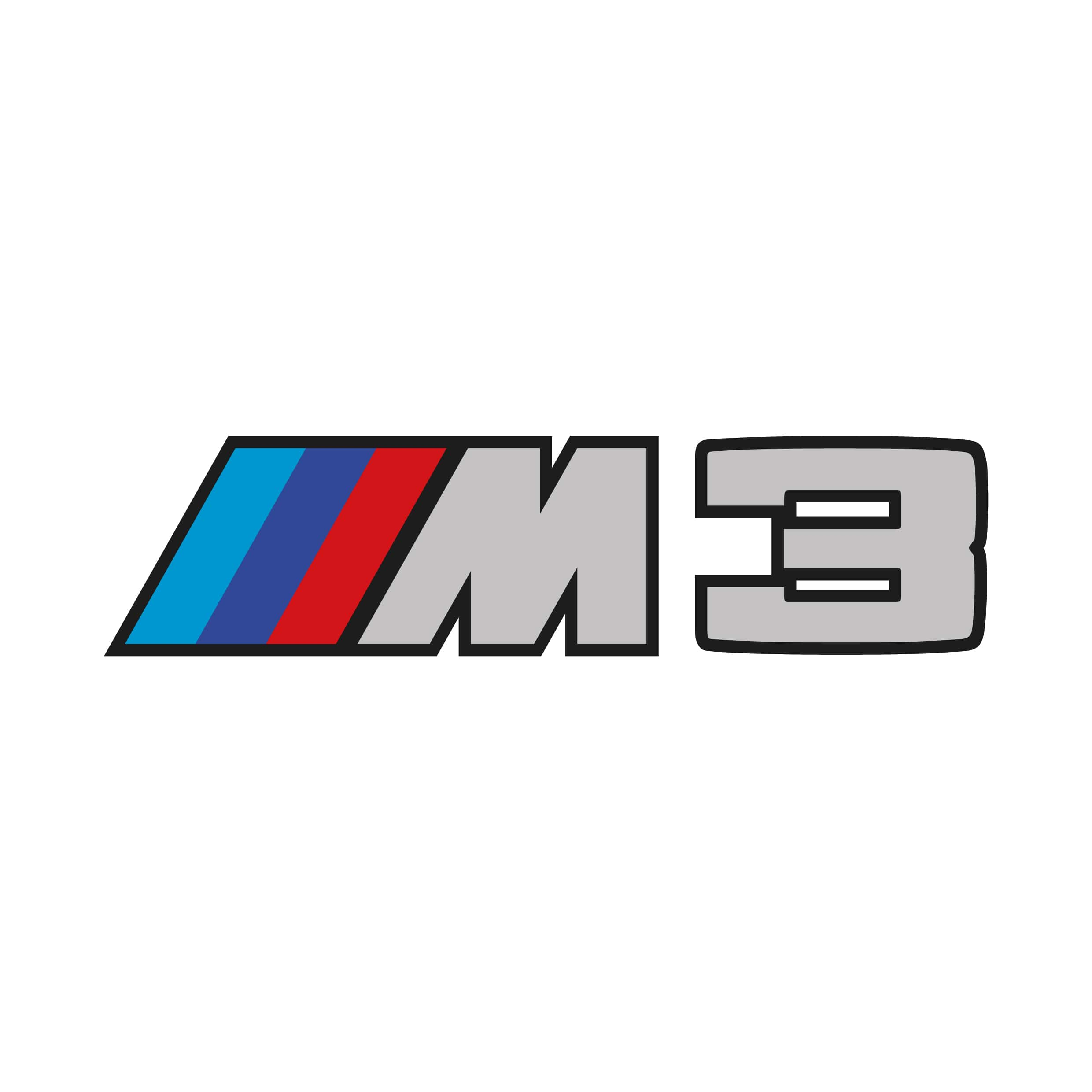 STICKERS BMW M3 LOGO.