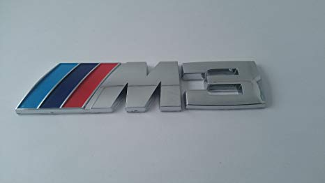 BMW e46 \'M3\' ( OEM ) Trunk Lid Emblem Insignia Badge Brand NEW deck lid logo.