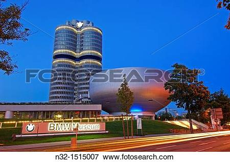 Picture of Munich, BMW Museum, BMW Headquarters, Bavaria, Germany.