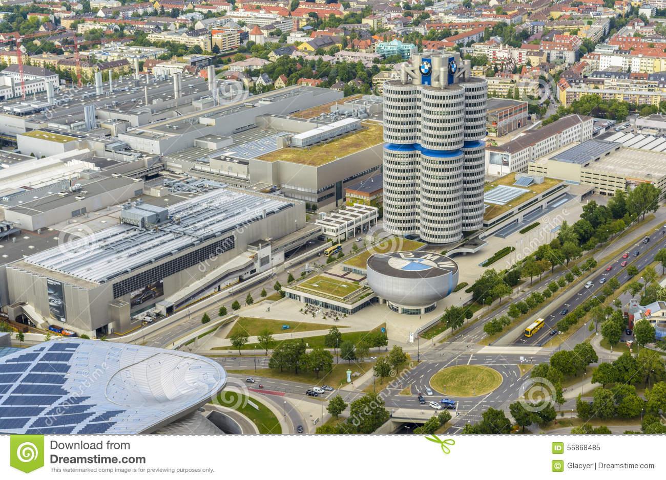 BMW Building, Munich, Germany Editorial Image.