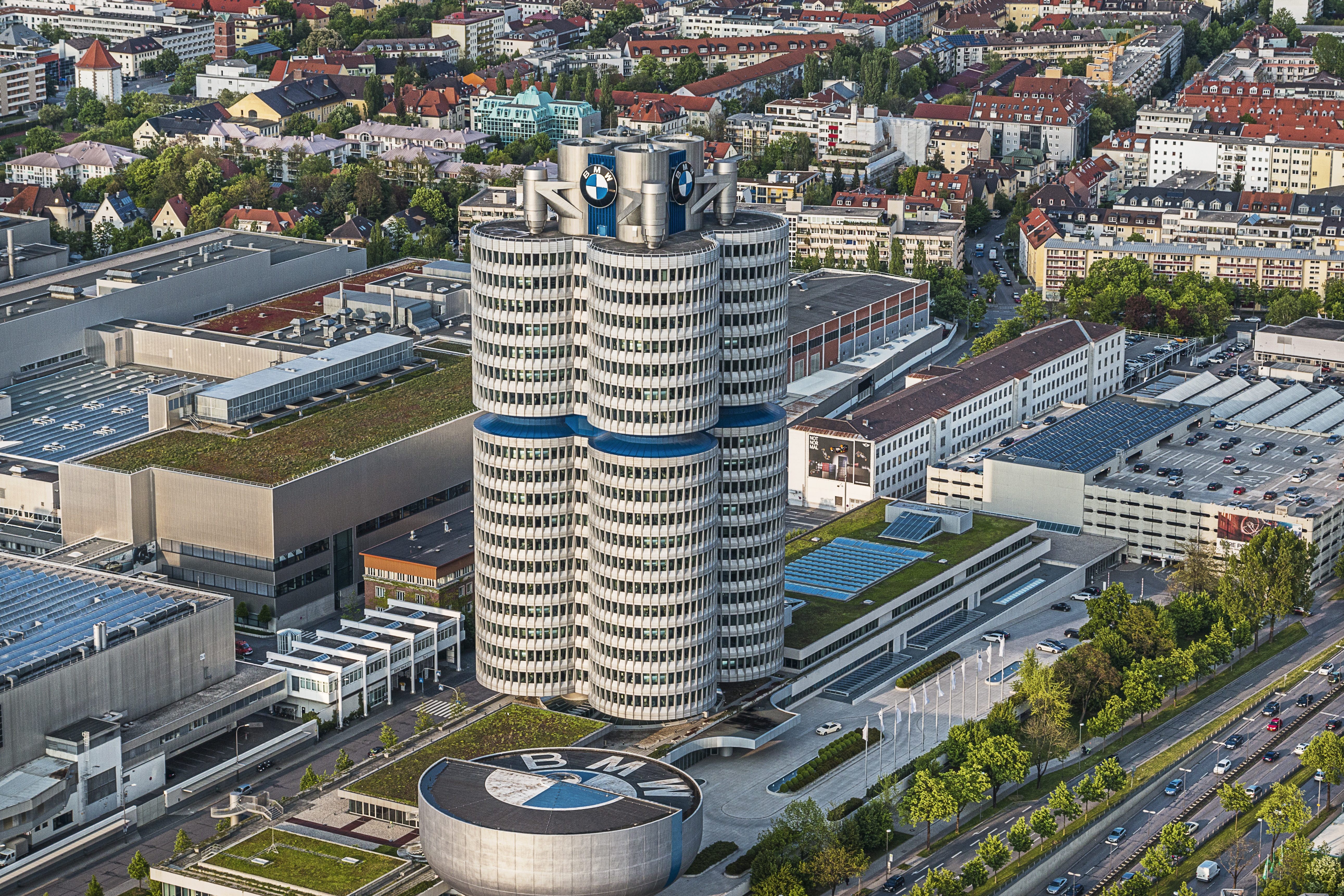 BMW Welt building in Munich, Germany.