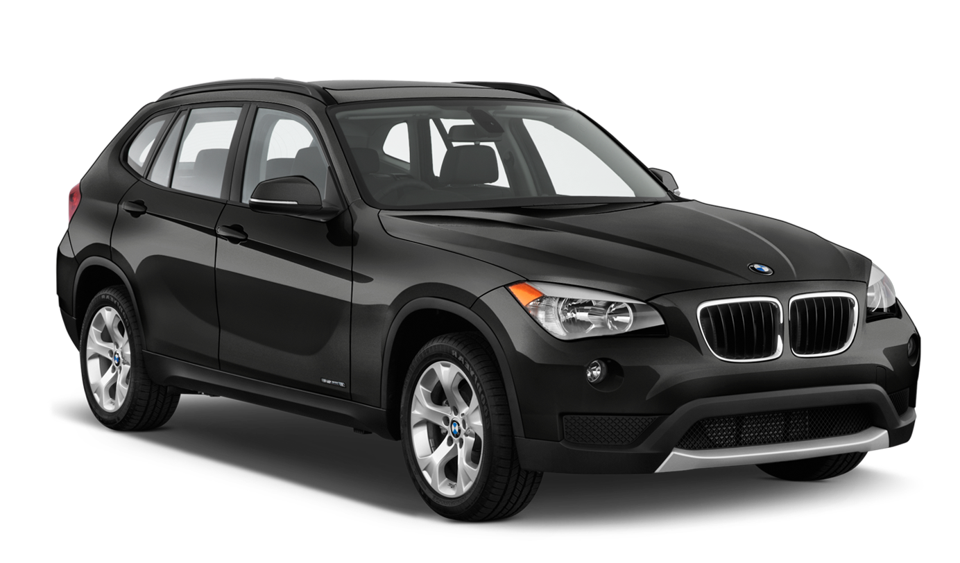 Black BMW X1 sDrive Car 2013 PNG Clipart.