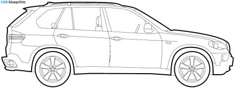 Kleurplaat Cars 3 Storm Bmw X5 Clipart Clipground