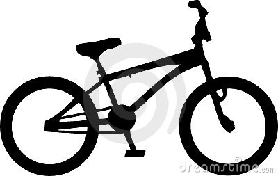 BMX Bike Royalty Free Stock Photos.