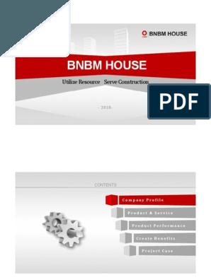 Bnbm House Ppt 2018.